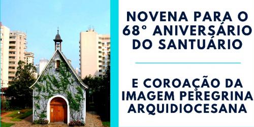 Novena para o 68º Aniversário do Santuário